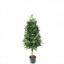 Potted bay tree 120cm height, green